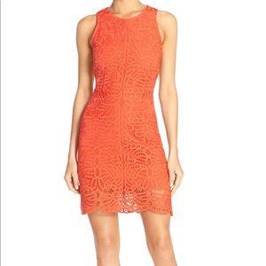 🆕 Amanda Uprichard Poppy Lace Sheath Dress NWOT